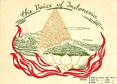 qsl voice of indonesia