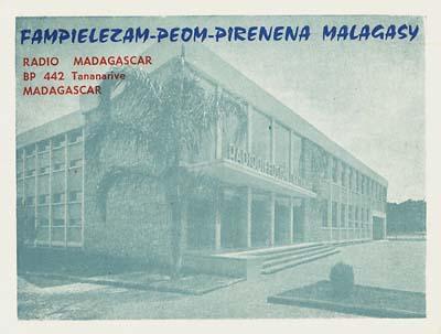 qsl Radio Madagaskar