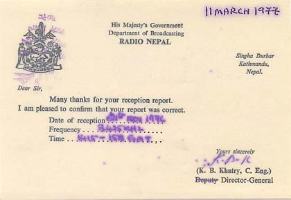 qsl voice of malaysia